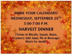 website Harvest Dinner